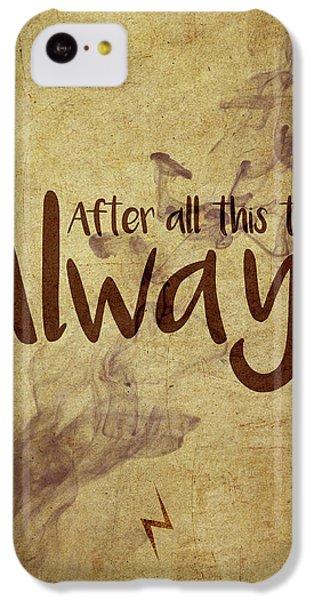 Wizard iPhone 5c Case - Always by Samuel Whitton