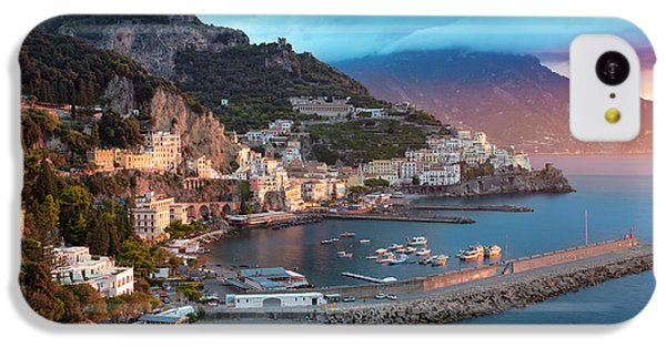 Amalfi Sunrise IPhone 5c Case by Brian Jannsen