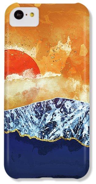 Landscapes iPhone 5c Case - Amber Dusk by Katherine Smit