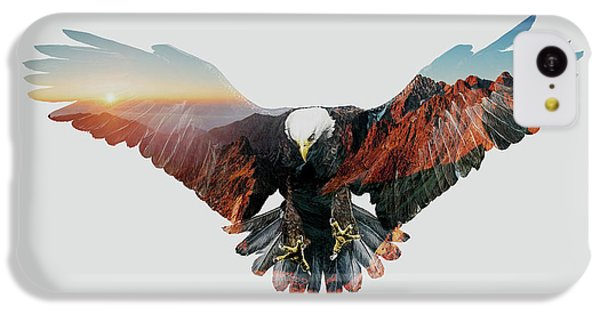 American Eagle IPhone 5c Case by John Beckley