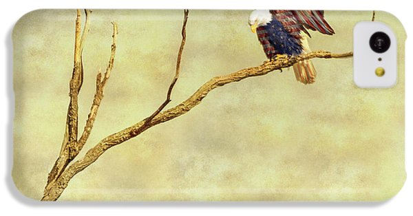 IPhone 5c Case featuring the photograph American Freedom by James BO Insogna