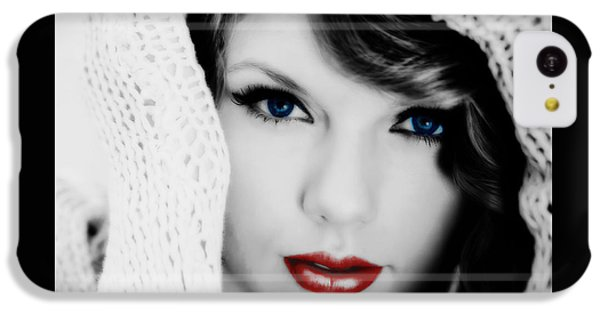 American Girl Taylor Swift IPhone 5c Case by Brian Reaves