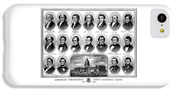Capitol Building iPhone 5c Case - American Presidents First Hundred Years by War Is Hell Store