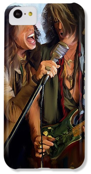 American Rock  Steven Tyler And Joe Perry IPhone 5c Case