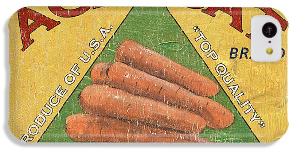 Carrot iPhone 5c Case - Americana Vegetables 2 by Debbie DeWitt
