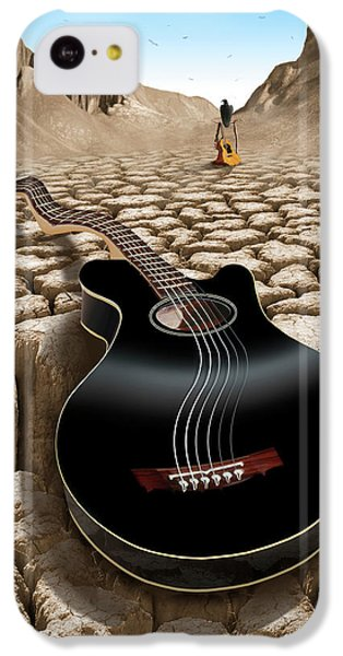 Buzzard iPhone 5c Case - An Acoustic Nightmare 2 by Mike McGlothlen