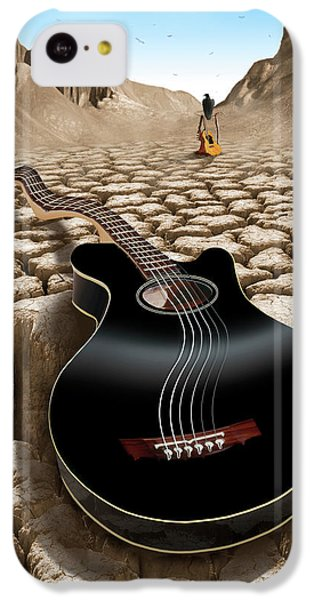 An Acoustic Nightmare 2 IPhone 5c Case by Mike McGlothlen