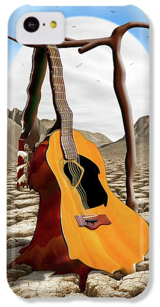 Buzzard iPhone 5c Case - An Acoustic Nightmare by Mike McGlothlen
