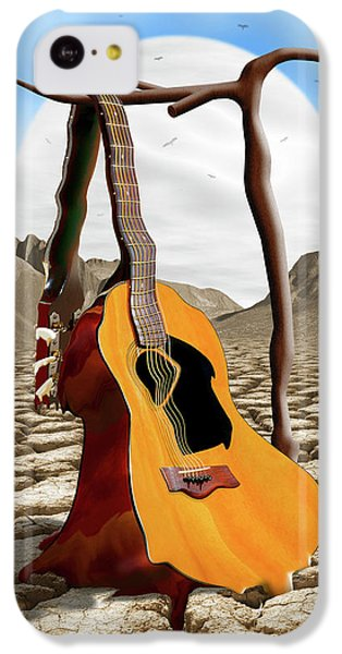 An Acoustic Nightmare IPhone 5c Case by Mike McGlothlen