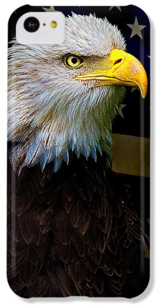 Eagle iPhone 5c Case - An American Icon by Chris Lord