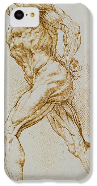 Nudes iPhone 5c Case - Anatomical Study by Rubens