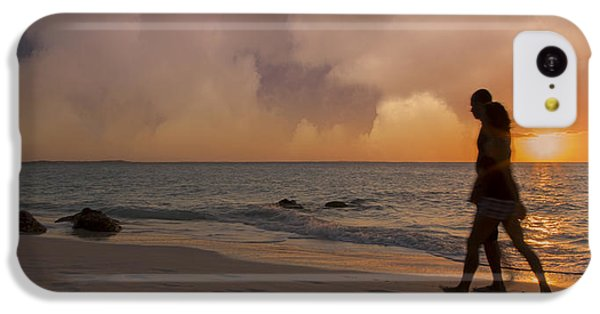 Ocean Sunset iPhone 5c Case - And Never Tear Us Apart by Betsy Knapp