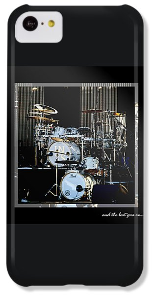 Drum iPhone 5c Case - And The Beat Goes On.... by Holly Kempe