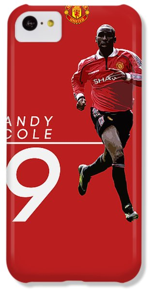Andy Cole IPhone 5c Case