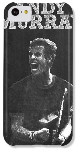 Andy Murray IPhone 5c Case by Semih Yurdabak