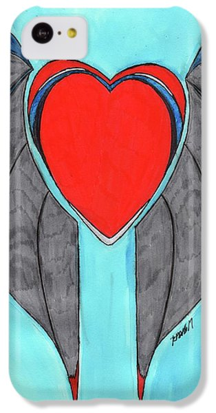 Angel Heart IPhone 5c Case by Ronald Woods