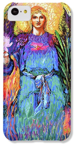 Lily iPhone 5c Case - Angel Love by Jane Small