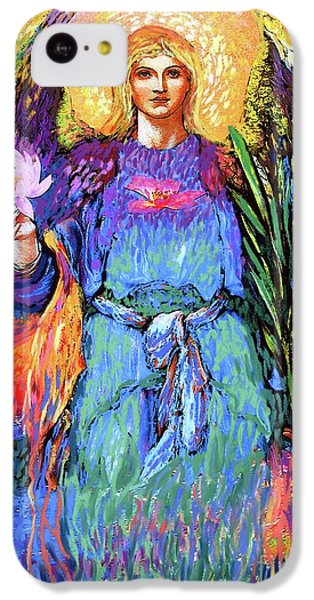 Figurative iPhone 5c Case - Angel Love by Jane Small