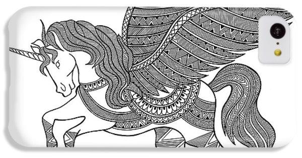 Animal Unicorn IPhone 5c Case by Neeti Goswami