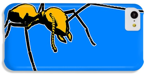 Ant iPhone 5c Case - Ant Graphic  by Pixel  Chimp