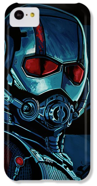 Ant iPhone 5c Case - Ant Man Painting by Paul Meijering