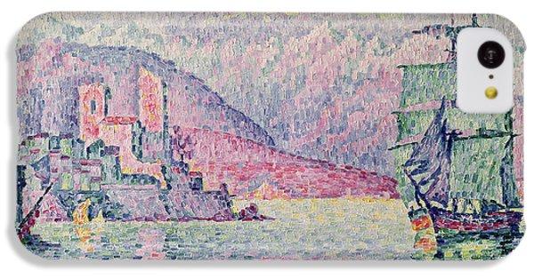 Impressionism iPhone 5c Case - Antibes by Paul Signac