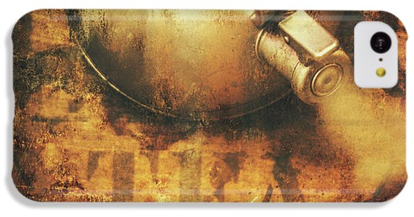 Antique Old Tea Metal Sign. Rusted Drinks Artwork IPhone 5c Case