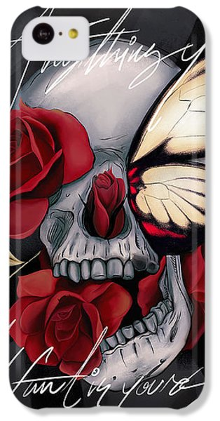 Floral iPhone 5c Case - Anything You Want Is Yours by Canvas Cultures