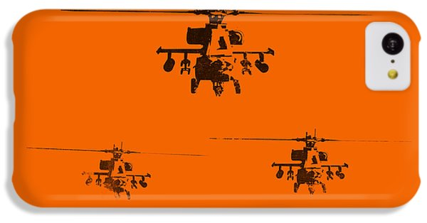 Helicopter iPhone 5c Case - Apache Dawn by Pixel  Chimp