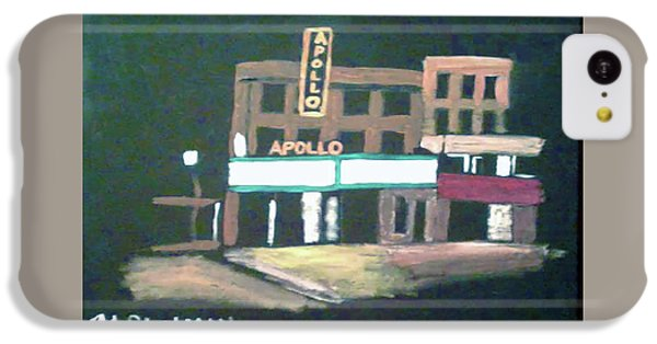 Apollo Theater iPhone 5c Case - Apollo Theater New York City by Michael Chatman