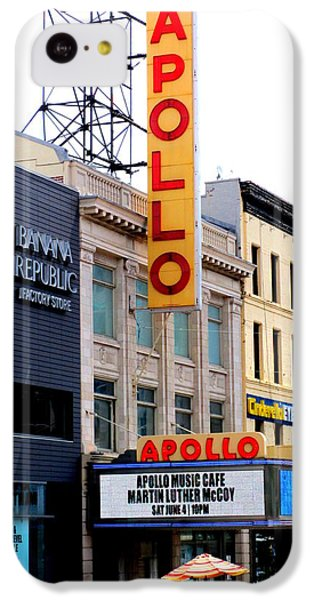 Apollo Theater iPhone 5c Case - Apollo Theater by Randall Weidner