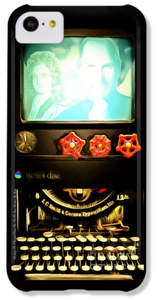 Apple Announcement Introducing The I-steampunk One 20160321 IPhone 5c Case by Wingsdomain Art and Photography