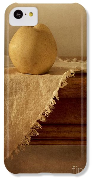 Still Life iPhone 5c Case - Apple Pear On A Table by Priska Wettstein