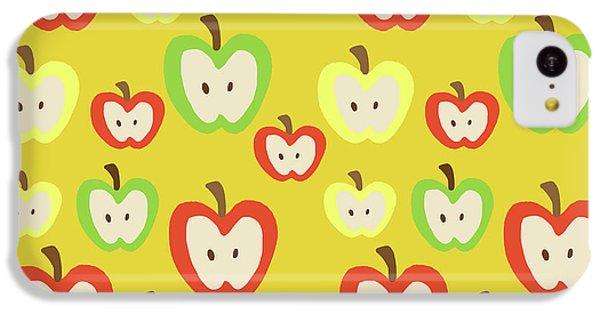 Apples IPhone 5c Case by Nicole Wilson