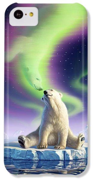 Flow iPhone 5c Case - Arctic Kiss by Jerry LoFaro