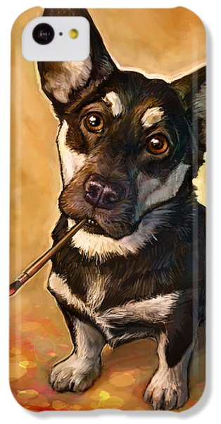 Portraits iPhone 5c Case - Arfist by Sean ODaniels