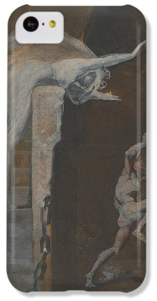 Ariadne Watching The Struggle Of Theseus With The Minotaur IPhone 5c Case by Henry Fuseli