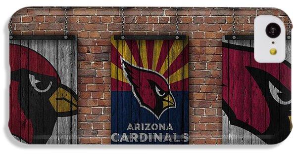 Arizona Cardinals Brick Wall IPhone 5c Case by Joe Hamilton