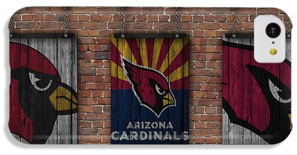 Arizona Cardinals Brick Wall IPhone 5c Case by Joe Hamilton