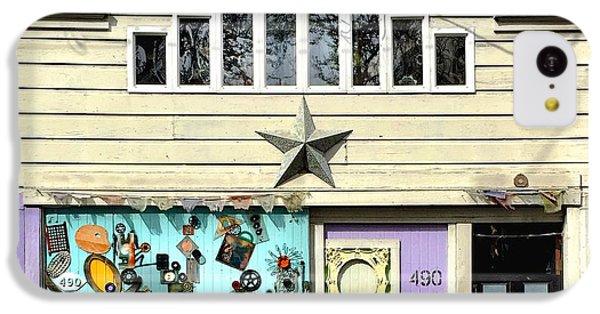 Artful Door IPhone 5c Case by Julie Gebhardt