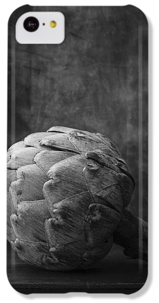 Artichoke Black And White Still Life IPhone 5c Case by Edward Fielding
