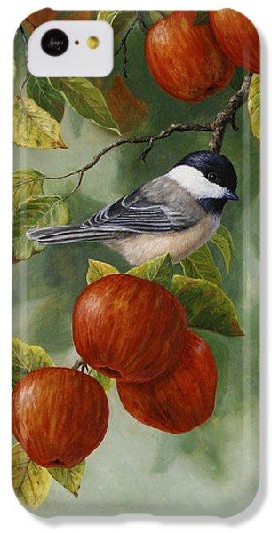 Apple Chickadee Greeting Card 2 IPhone 5c Case