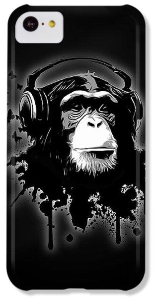Monkey Business - Black IPhone 5c Case
