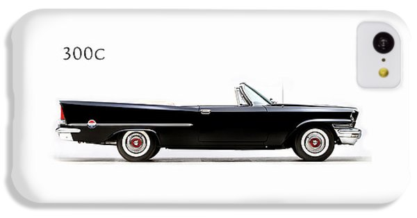 Car iPhone 5c Case - Chrysler 300c 1957 by Mark Rogan