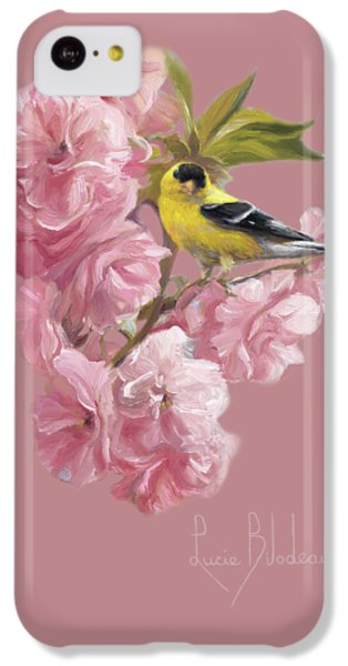 Finch iPhone 5c Case - Spring Blossoms by Lucie Bilodeau