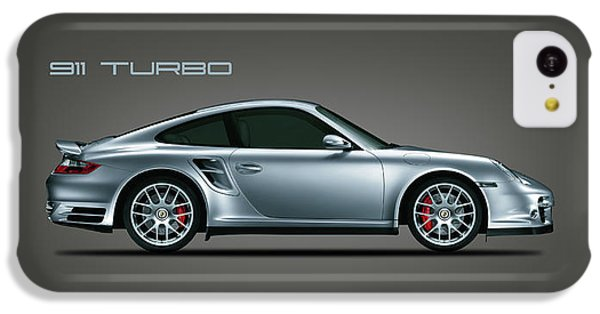 Car iPhone 5c Case - Porsche 911 Turbo by Mark Rogan