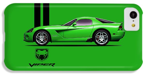 Dodge Viper Snake Green IPhone 5c Case