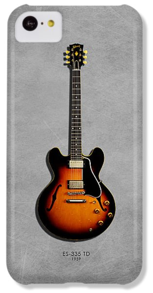 Gibson Es 335 1959 IPhone 5c Case by Mark Rogan
