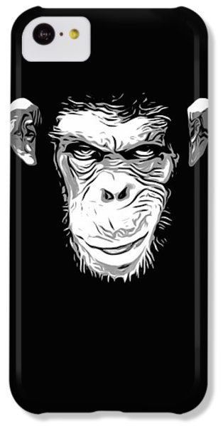 Evil Monkey IPhone 5c Case by Nicklas Gustafsson