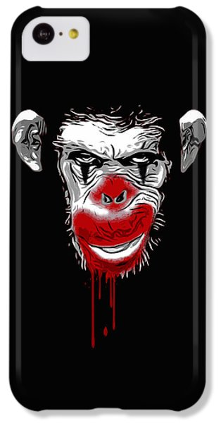 Evil Monkey Clown IPhone 5c Case by Nicklas Gustafsson